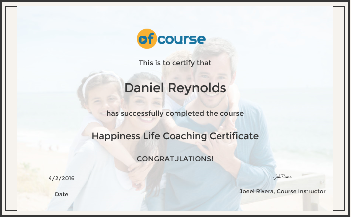 Mental Health Happiness Life Coaching Certification Course Reed