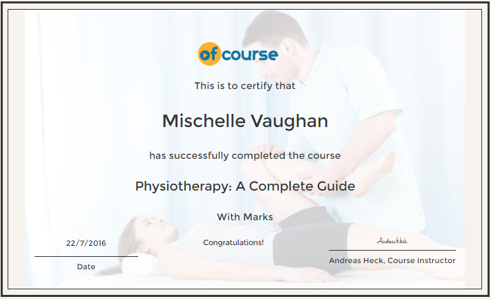 Physiotherapy Cert